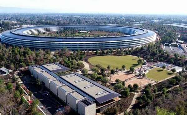 $5bn Apple Headquarters Apple Park Has 14,200 Parking Spots - autojosh