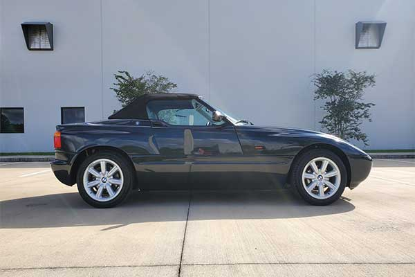 BMW Z1 Roadster: A Sport Car That Disappeared As Soon As It Appeared