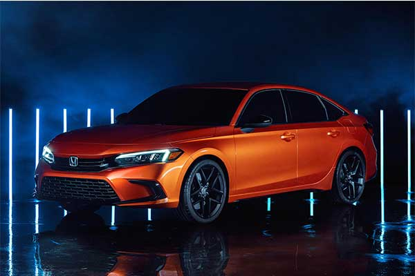 2022 Honda Civic Prototype Model Revealed With Better Looks And Safety