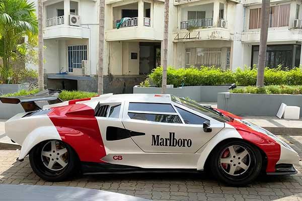 This Lamborghini Countach Is A Hyundai Powered By Toyota
