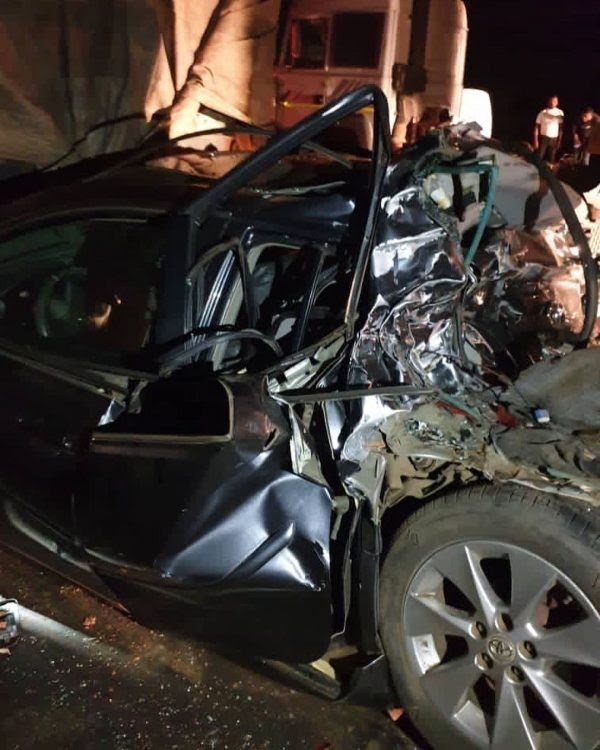 Nigerian Christian Singer, Dare Melody Escapes Death In A Ghastly Motor Accident - autojosh