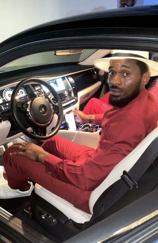 D'banj Flaunts His New Customized Rolls-Royce Wraith Worth ₦100m - autojosh
