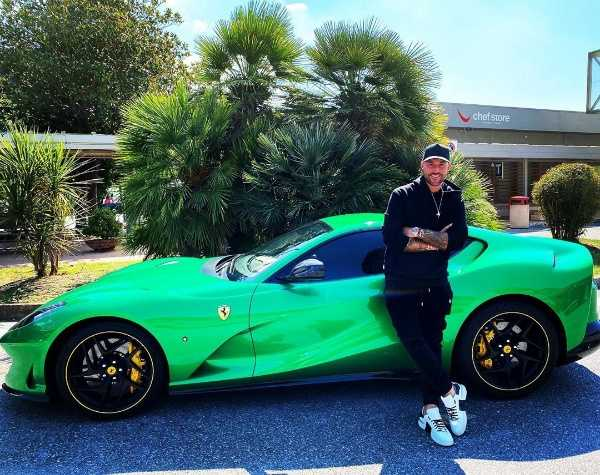 Court Orders Designer To Pay Ferrari $352k For Advertising His Shoes On His Sports Car - autojosh