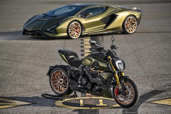Audi Owned Ducati Unveils Hypercar-inspired Ducati Diavel 1260 Lamborghini Motorbike - autojosh