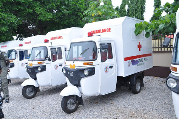 Tricycle Ambulances