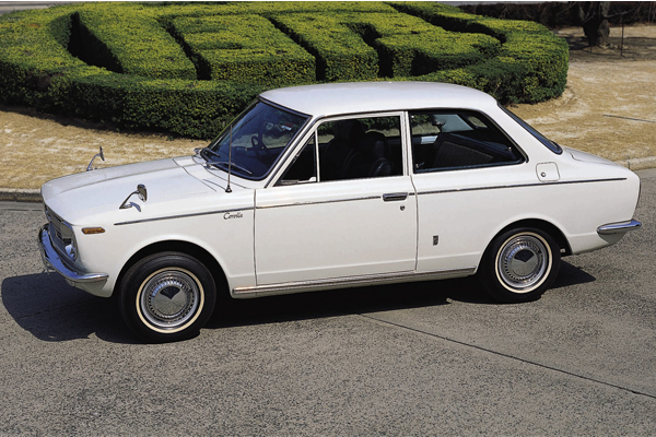 Checkout The First Ever Toyota Corolla Model