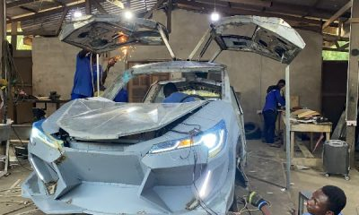 Ghanaian Automaker Kantanka Shows Off Lamborghini Urus-inspired Car With Gullwing Doors - autojosh
