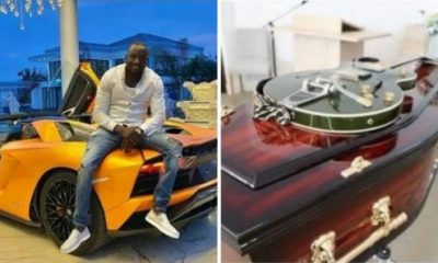 "See Yacht-like Casket Zimbabwean Supercar Collector ""Ginimbi"" Bought A Week Before His Fatal Crash - autojosh"