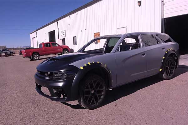 Someone Turned A Dodge Charger Into A Magnum Wagon (Photos)