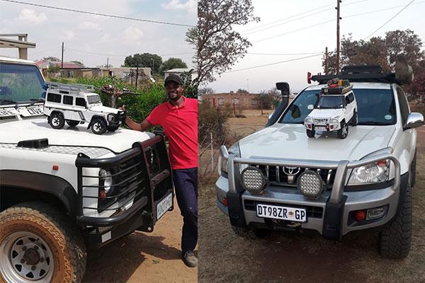 Meet 30 Year Old Hendrick Chebanga, The Man Who Builds Miniature Replicas Of Vehicles