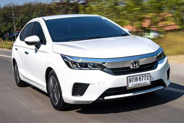 Take A Look At The Latest 2020 Honda City Not Available In Nigeria