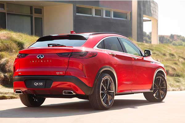 Infiniti QX55 Joins The Coupe-SUV Party And It Looks Great