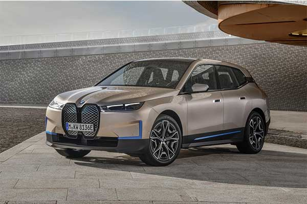 Meet BMW's Latest X5 Sized iX Full Electric SUV For 2022