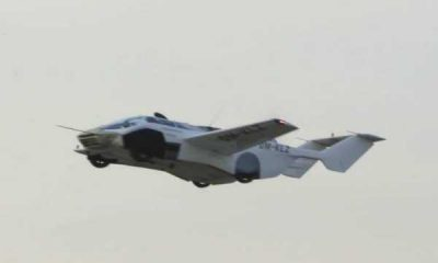 AirCar, Sports Car That Turns Into Plane In 3-Mins, Completes Maiden Test Flight - autojosh
