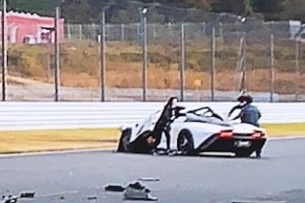 Owner Crashes New $2m McLaren Speedtail At Fuji Speedway In Japan - autojosh