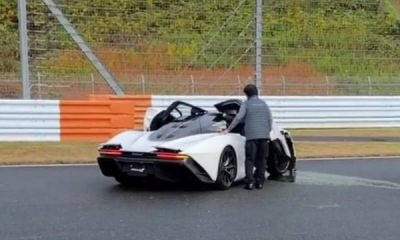 Owner Crashes New $2m McLaren Speedtail At Fuji Speedway In Japan