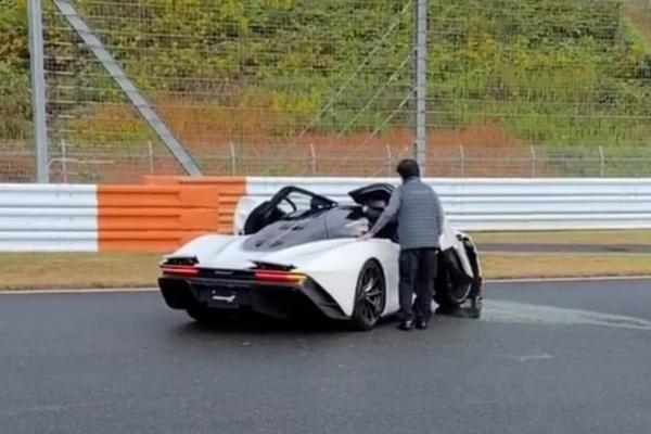 Owner Crashes New $2m McLaren Speedtail At Fuji Speedway In Japan