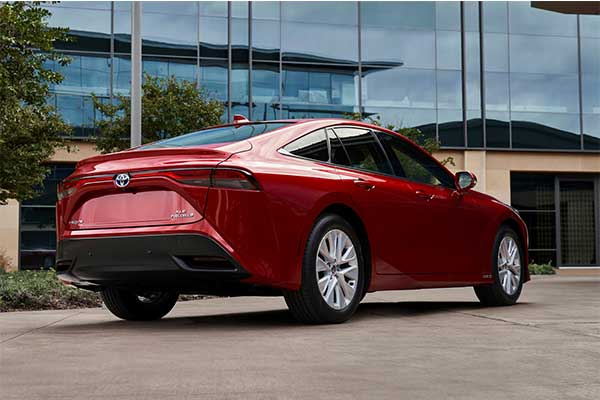 2021 Toyota Mirai Hydrogen Vehicle Is Out And Its Expensive