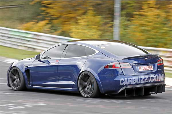 Model S Plaid Is Tesla's Fastest Electric Sedan With A 1,100Hp