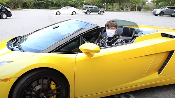 Uber Passangers Win Lamborghini And Other Cars From Youtube Vlog Millionaire Who Pretended To Be An Uber Driver - Autojosh