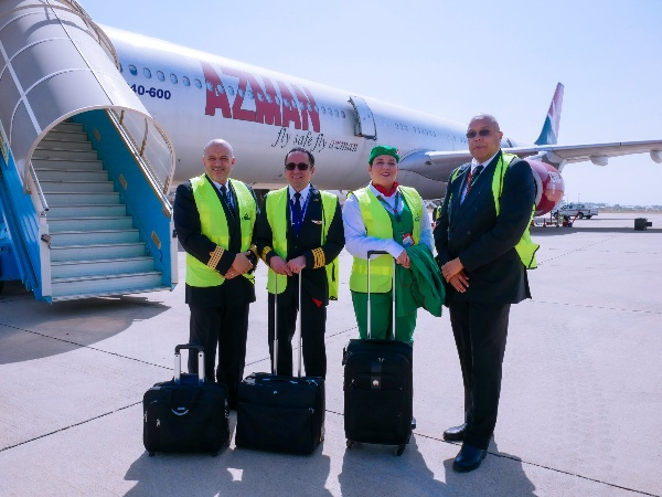 "Nigeria's Azman Air Takes Latest Aircraft ""Airbus A340"" On Promotional Flights Betw. Kano, Abuja and Lagos - autojosh"