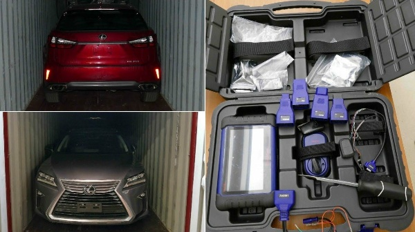 Police In Canada Recovers 73 Stolen Cars Worth ₦1.7b That Were Being Shipped To Nigeria - autojosh