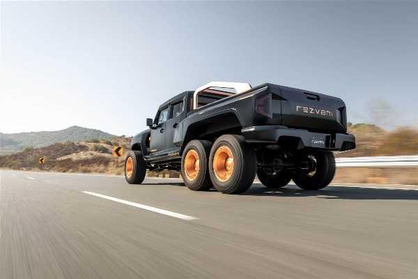 Rezvani Hercules 6x6 - autojosh