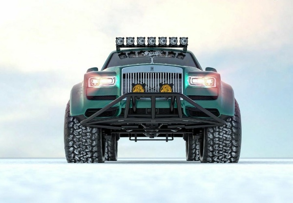 ₦200m Rolls-Royce Cullinan SUV Reimagined As Actic Monster Truck - autojosh