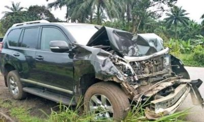 Samuel Etoo Involved In Car Accident After A Public Bus Crashed Into His SUV - autojosh