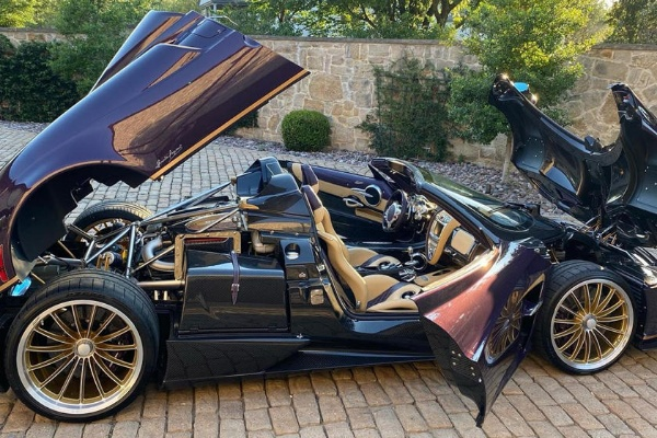 Teen YouTuber Totals Dad's One-Off Pagani Huayra Worth $3.4m - autojosh