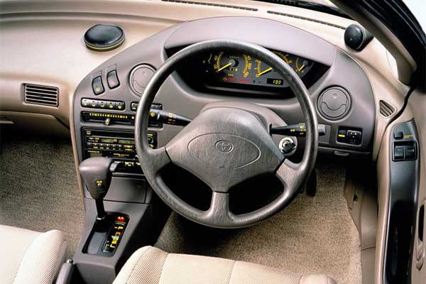 Throwback: Remember This Little Toyota Sera Sports Car?