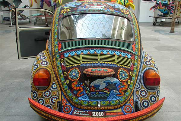 Take A Look At This VW Beetle Covered In 2 Million Beads