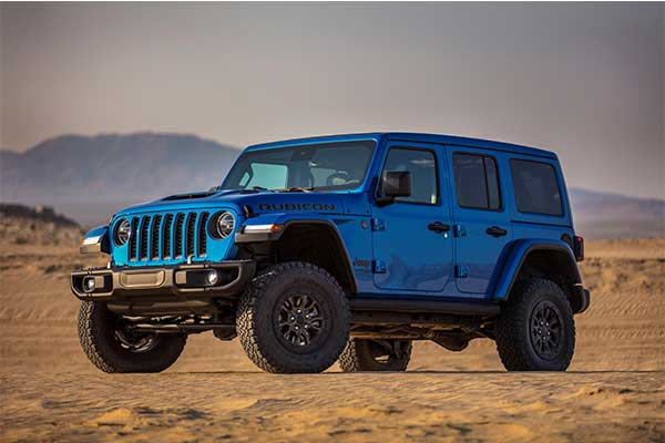Jeep Wrangler V8 Model In Production Version Unveiled