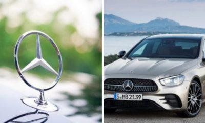 2021 Mercedes-Benz E-Class Loses Three-pointed Star Hood Ornament - autojosh