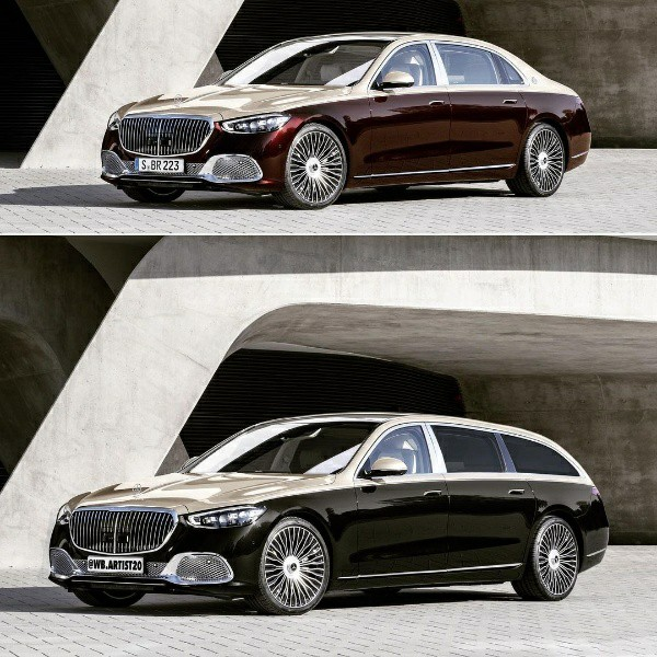2021 Mercedes-Maybach S-Class Reimagined As An Ultimate Luxury Wagon - autojosh