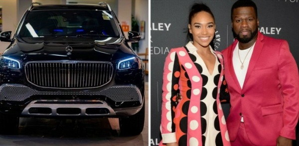 50 Cent Surprises Girlfriend With A Mercedes-Maybach GLS 600 SUV To Celebrate Christmas - autojosh