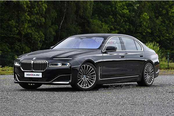 2022 BMW 7-Series Rendered Images Leaked, Looking Strange