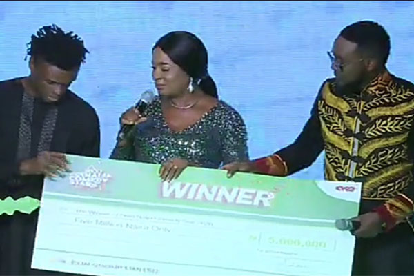 Aproko Crowned Next Naija Comedy Star Winner, Wins N5m And A Car - autojosh