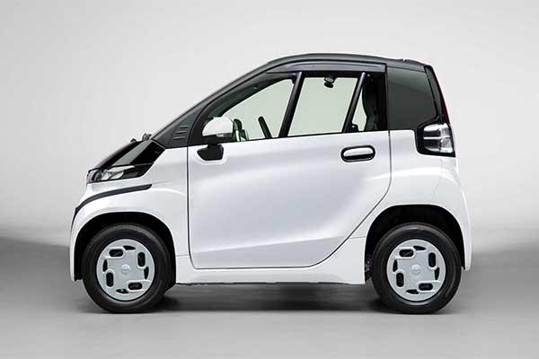C+pod Is Toyota's Latest Miniature RWD EV With A Plastic Body