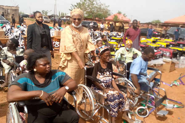 Ekiti Rep Celebrates Christmas With Constituents, Distributes 14 Vehicles, 60 Motorcycles, 58 Sewing Machines - autojosh