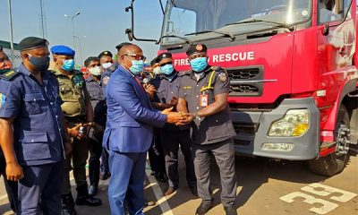 Ahead Of Dry Season, Enugu State Govt. Donates 4 Rapid Response Vehicles To State Fire Service - autojosh