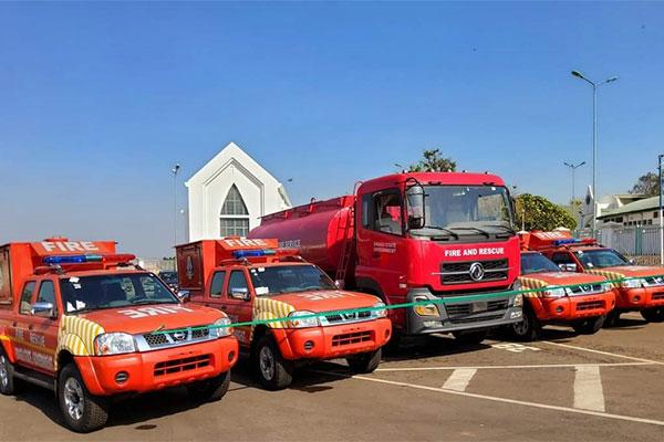 Ahead Of Dry Season, Enugu State Govt. Donates 4 Rapid Response Vehicles To State Fire Service - autojosh