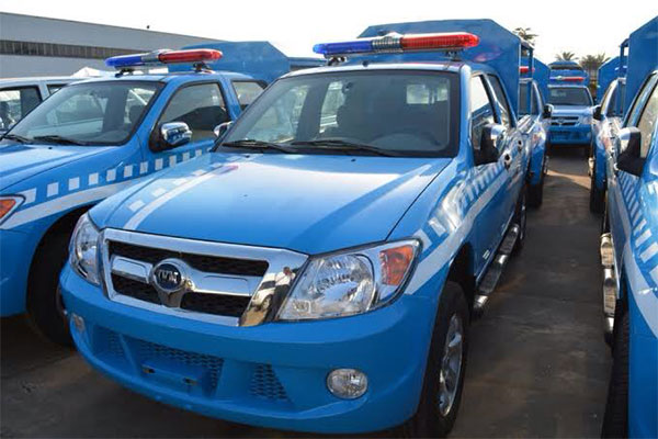 FG Purchases 77 New Pick-Up Trucks From Innoson, Twitter User Reveals