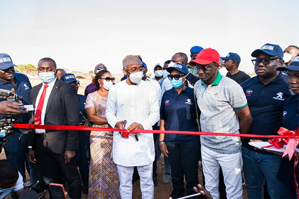 Speaker Gbajabiamila Unveils PAN Nigeria Limited's Newest Vehicle Models - autojosh