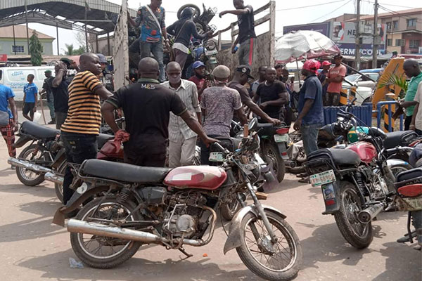 Lagos Taskforce Seizes 130 Motorcycles Operating In Restricted Areas - autojosh