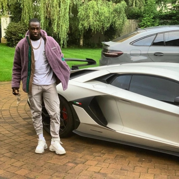 Man City Star Benjamin Mendy's ₦200m Lamborghini Could Be Crushed After Being Seized By Police - autojosh