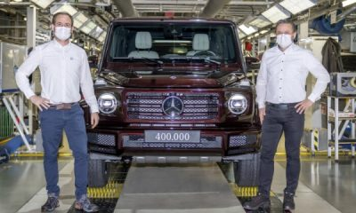 Incredible Milestone, 400,000th Mercedes G-Wagon Rolls Off Assembly Lines In Austria - autojosh