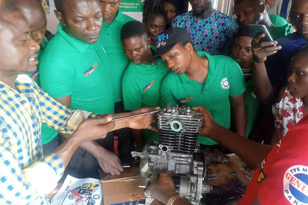 NADDC, SIMBA Collaborate To Train Engineers On How To Repair And Do Maintenance Of Tricycles and Motorcycles - autojosh
