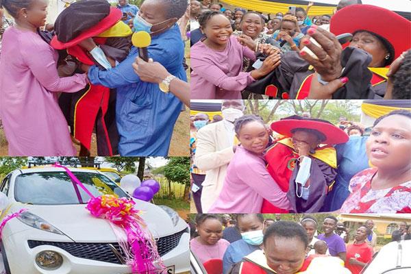 Pastor Anselm Madubuko's Wife Gifts Mum A Car To Celebrate Award - autojosh