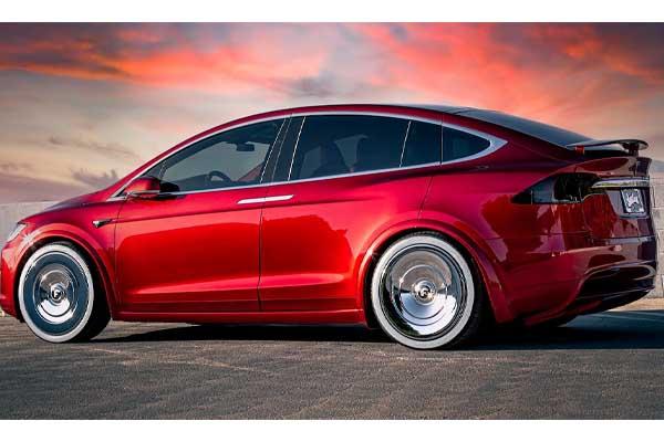 Quavo Tesla X Car